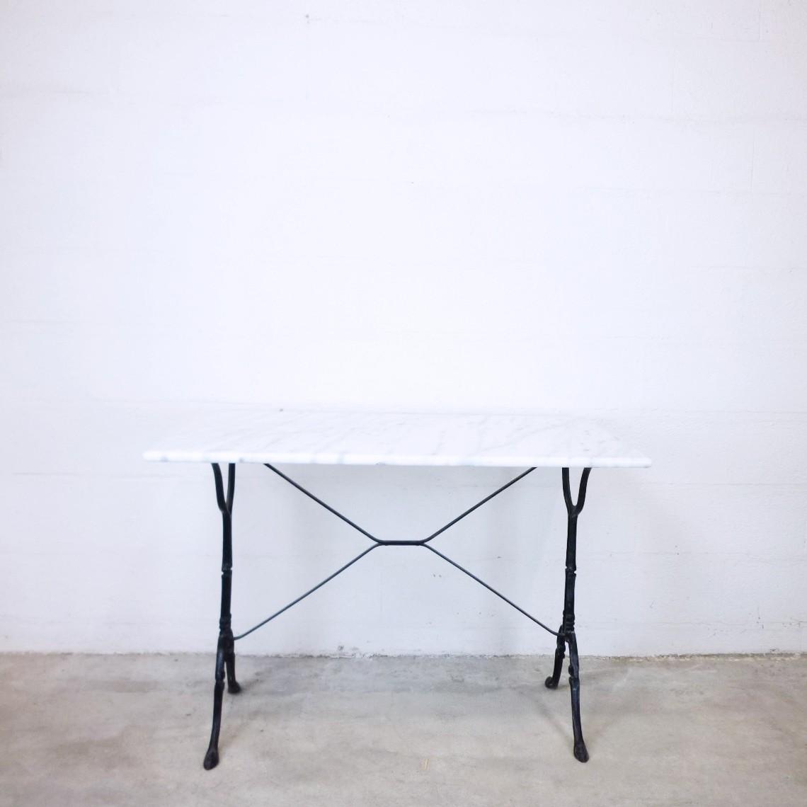 Vintage Marble Bistro Table   1960s. Previous Next