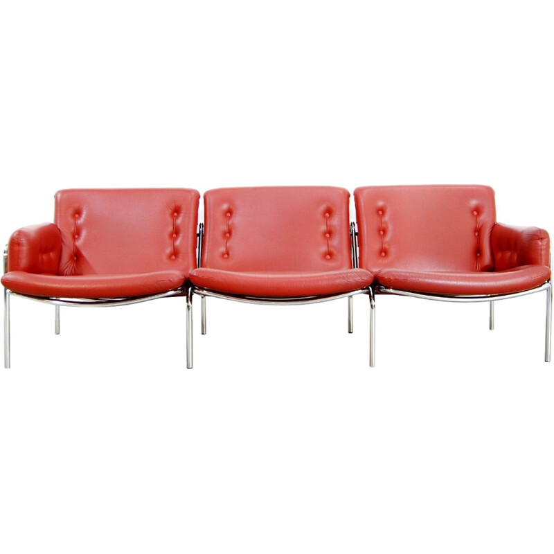Vintage 3-Seater Sofa by Martin Visser for 'T Spectrum - 1960s
