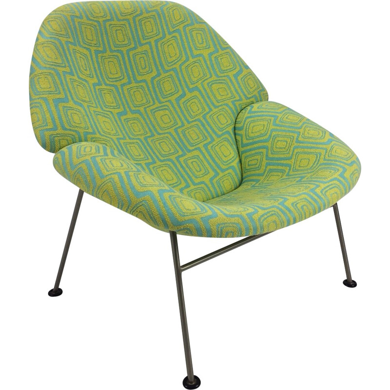 Vintage F555 Chair by Pierre Paulin for Artifort - 1960s