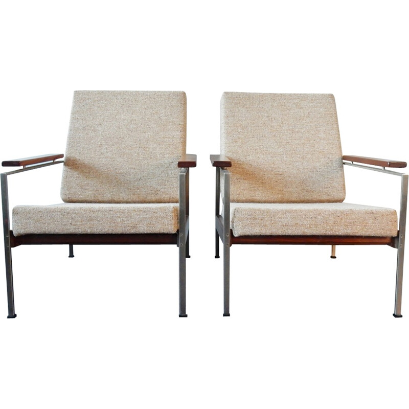 Set of two vintage Lounge Chairs by Rob Parry for Gelderland - 1960s