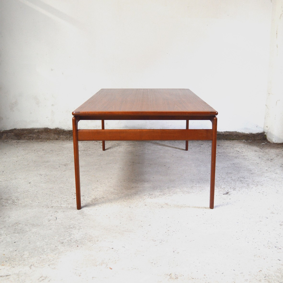 Old Teak Coffee Table: Vintage Danish Teak Coffee Table For Trioh