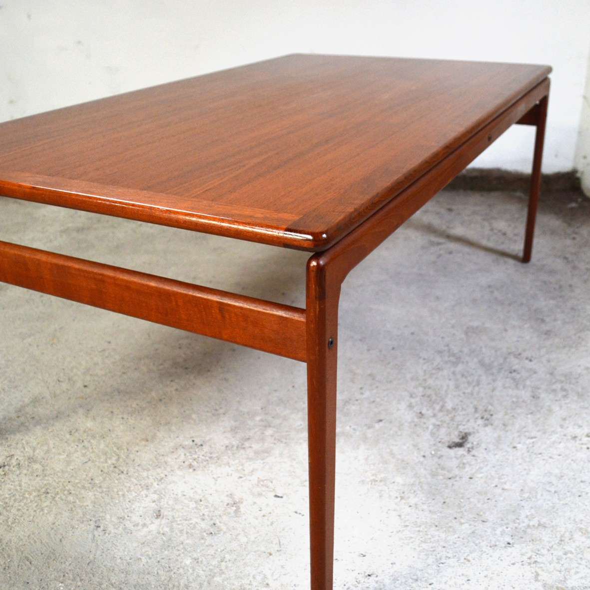 Vintage Danish teak coffee table for Trioh - 1970s ...