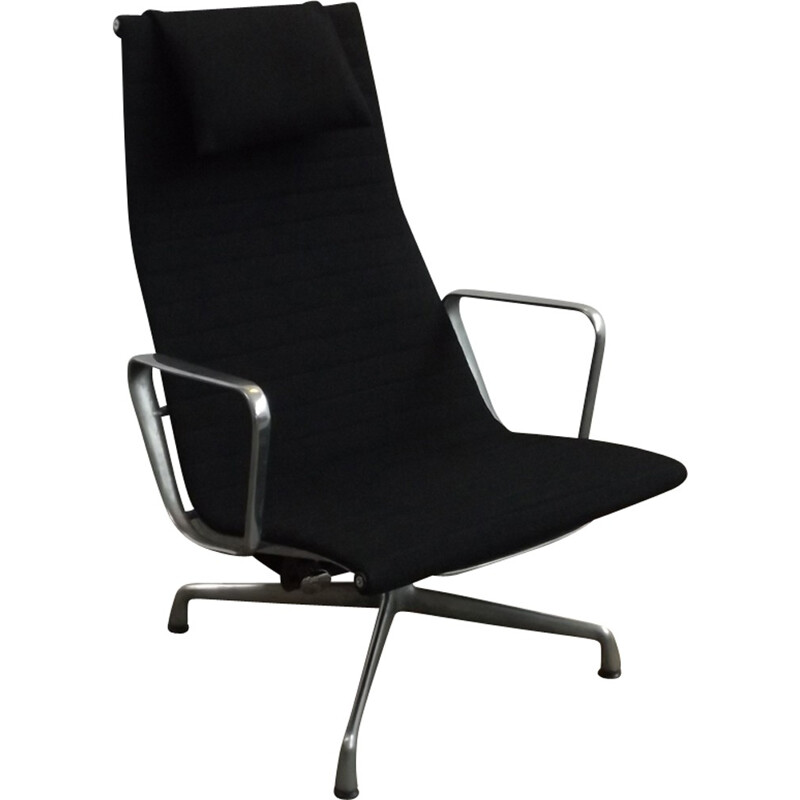 Vintage EA124 lounge chair by Charles & Ray Eames for Vitra - 1970s
