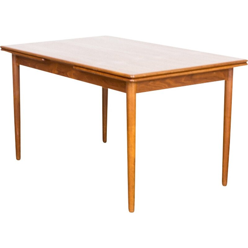 Vintage Teak extendable dining room table - 1960s
