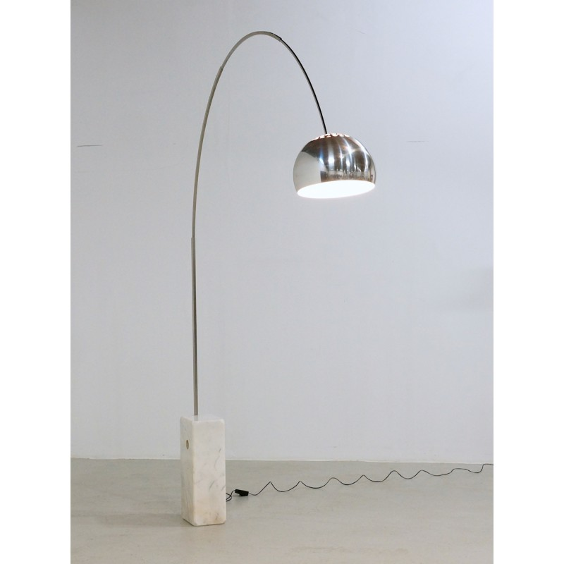 Vintage Flos Arco Floor Lamp By Archille And Pier Giacomo