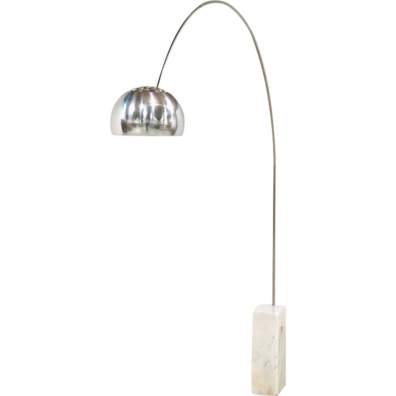 Vintage Flos Arco Floor Lamp by Archille and Pier Giacomo Castiglioni - 1960s