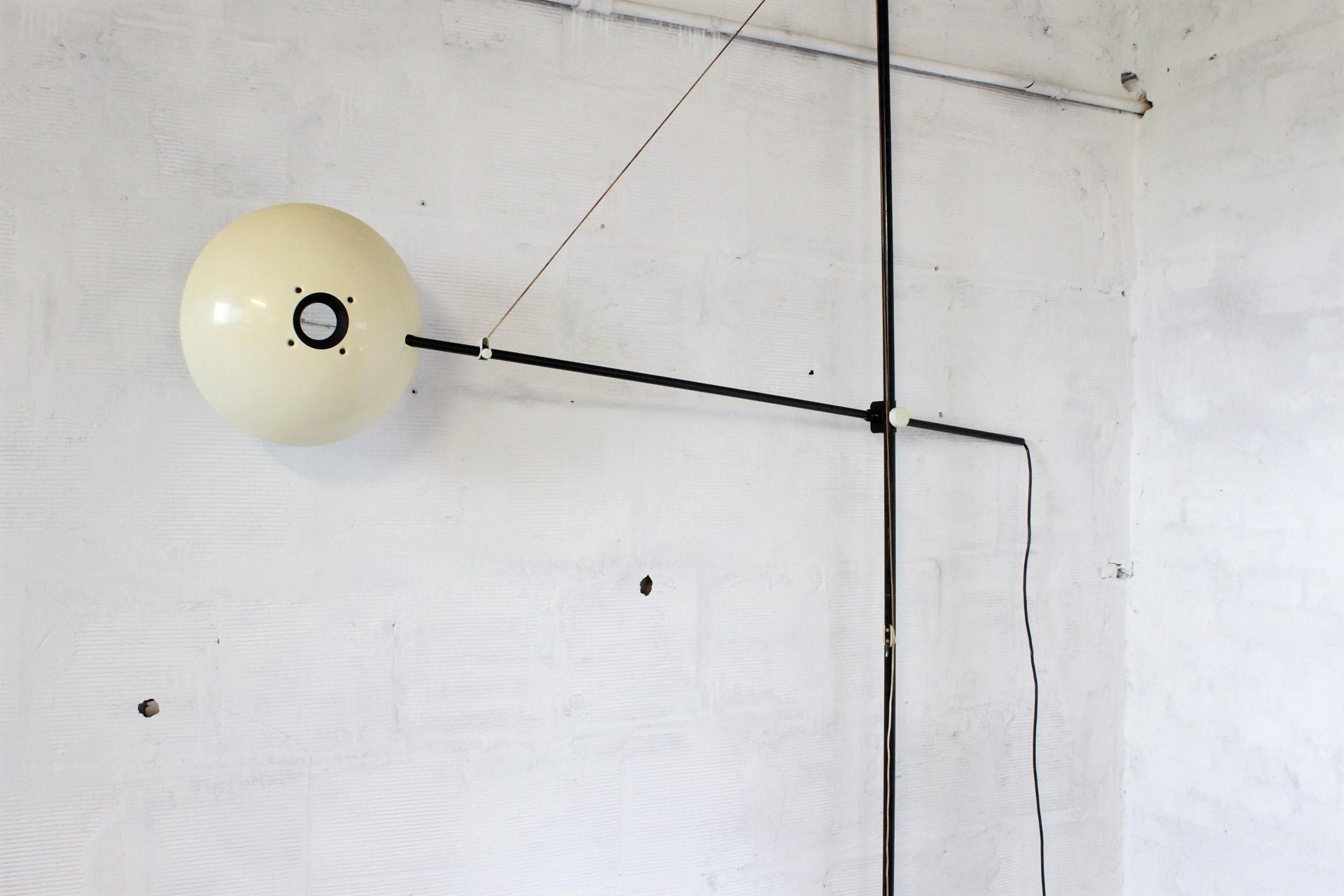 Vintage Bigo Ceiling Lamp Floor By Valenti Luce 1970s