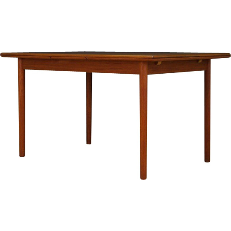Vintage veneered dining table - 1960s