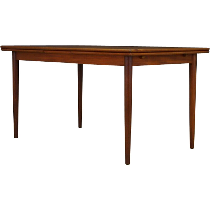 Vintage Danish dining table in teak - 1960s