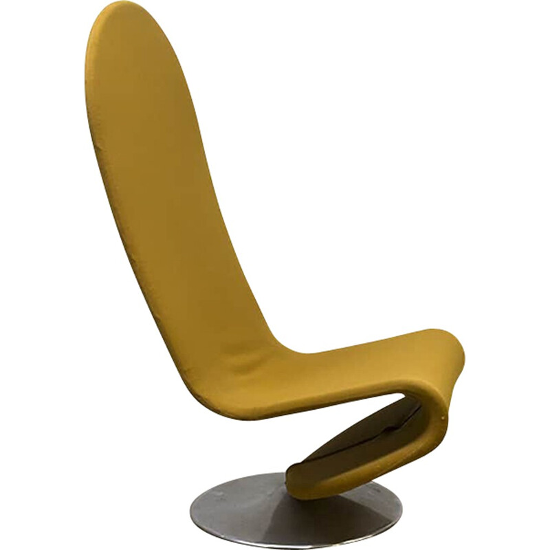 Vintage rocking chair by Verner Panton for Fritz Hansen - 1970s