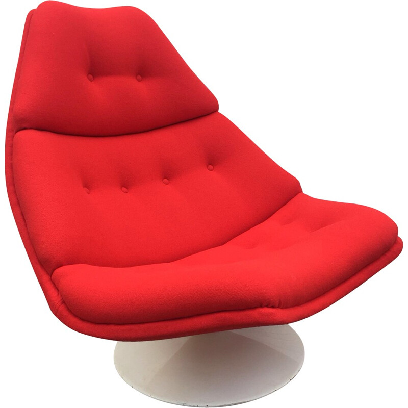 Vintage F510 Lounge Chair by Geoffrey Harcourt for Artifort - 1970s