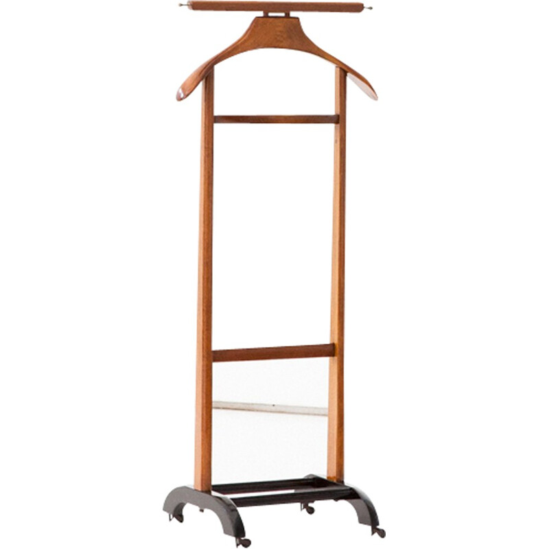 Vintage Italian Wooden Valet by Ico & Luisa Parisi for Fratelli Reguitti - 1950s