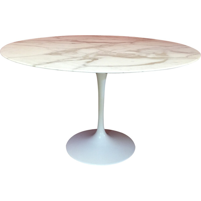 "Vintage ""Tulip"" dining table by Eero Saarinen for knoll - 1970s"