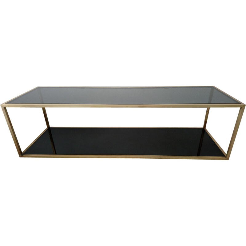 Large vintage Italian coffee table - 1970s