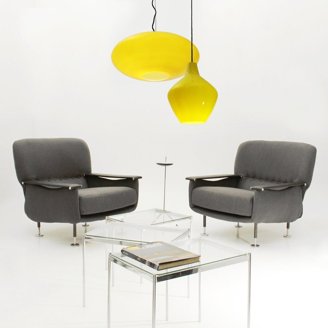 yellow pendant lighting. Vintage Italian Yellow Pendant Lamp In Glass - 1960s. Previous Next Lighting