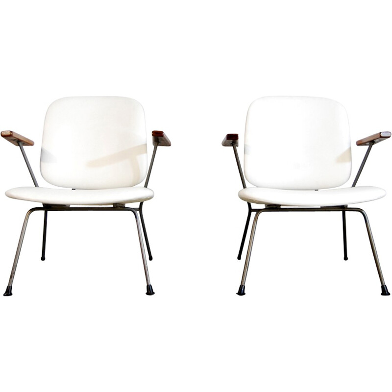 Industrial Easy Chair by Willem Hendrik Gispen for Kembo - 1950s