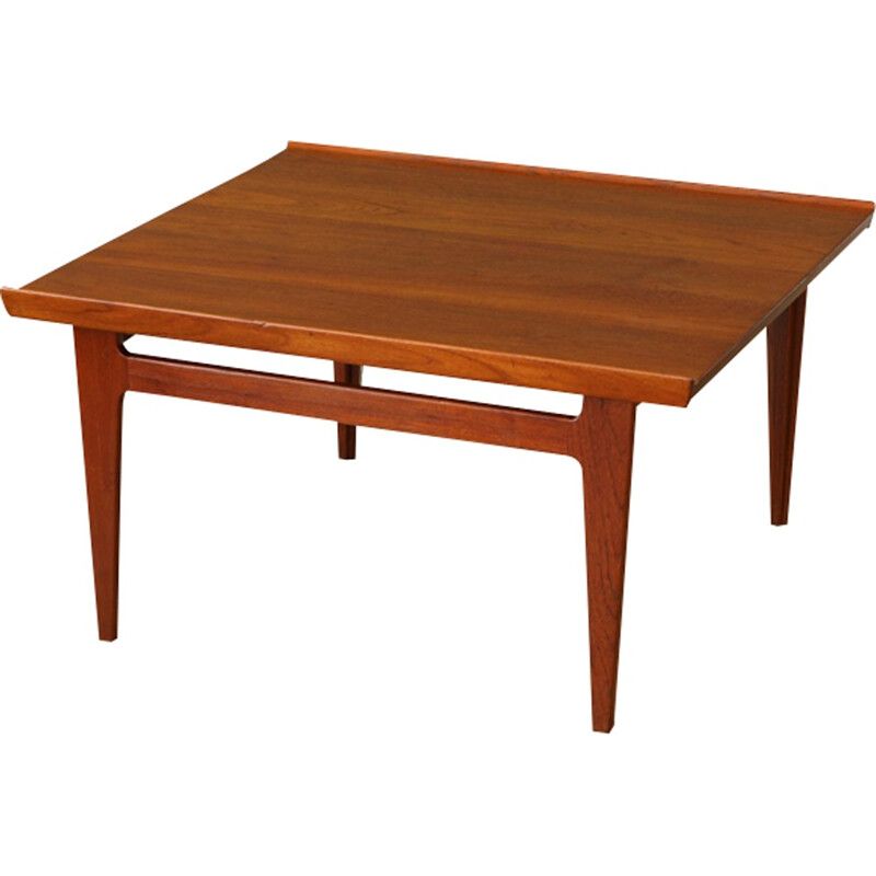 Vintage teak coffee table by Finn Juhl for France & Son - 1950s