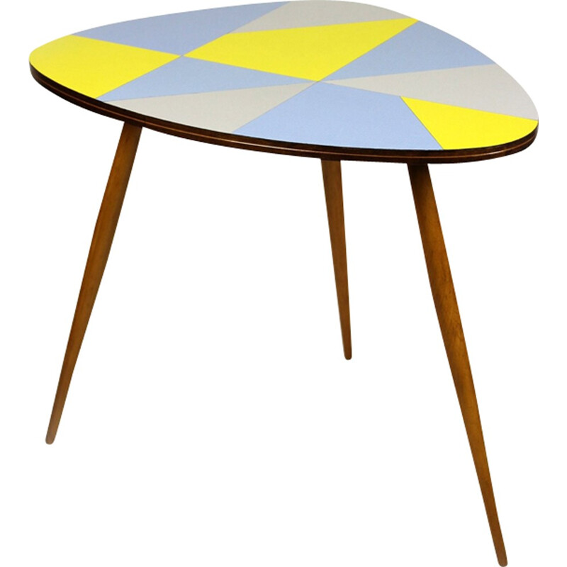 Vintage Czech Formica Coffee Table - 1960s