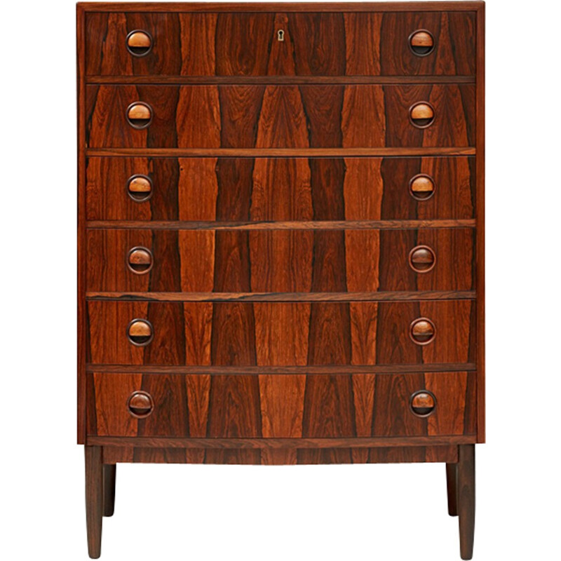 Vintage Rosewood Chest of Drawers by Kai Kristiansen - 1960s