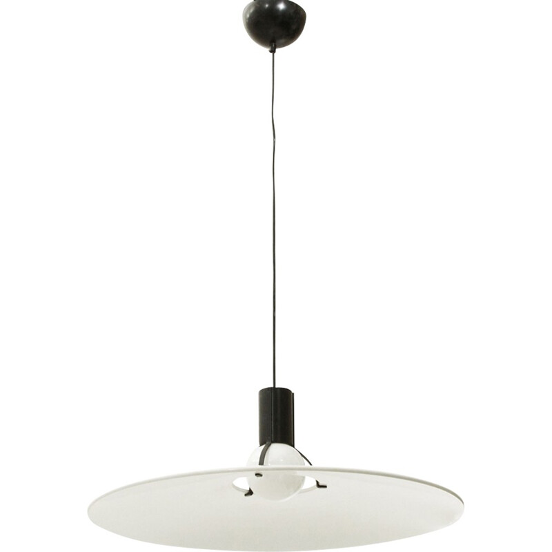 "Small Vintage ""2133"" pendant lamp by Gino Sarfatti for Arteluce - 1970s"
