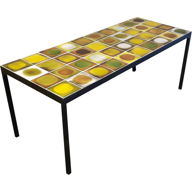 """Planet"" Coffee table by Roger Capron - 1950s"
