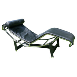 "chaise longue ""LC4"", Le CORBUSIER - 1980s"