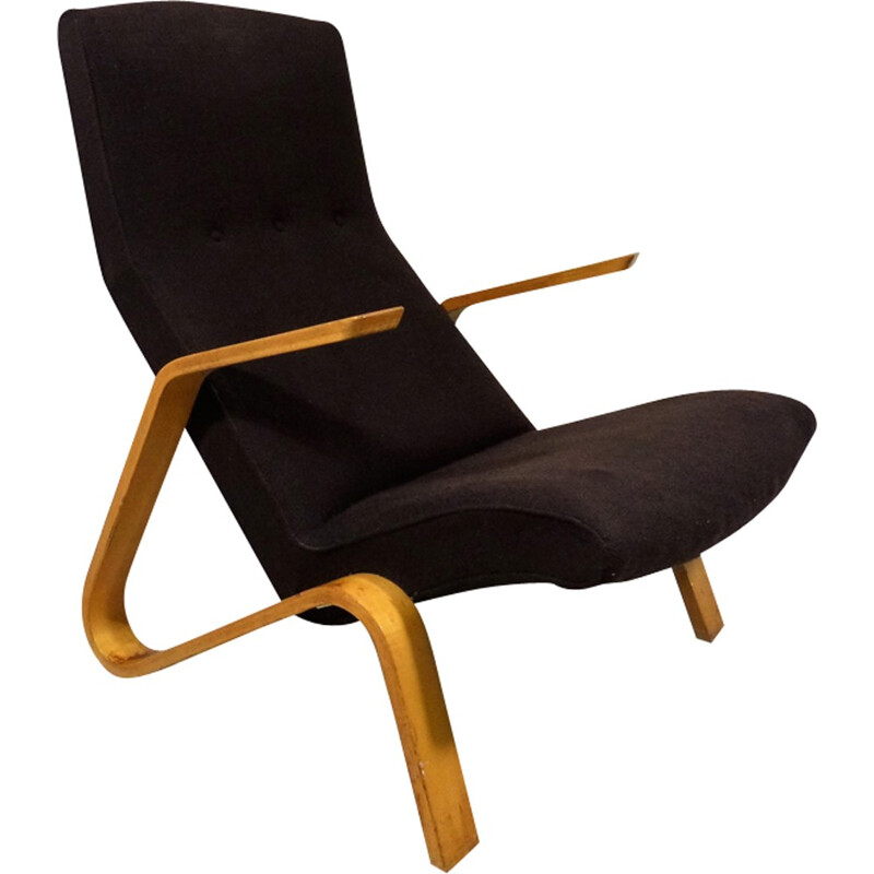 Vintage Grasshopper armchair by Eero Saarinen for Knoll International - 1950s
