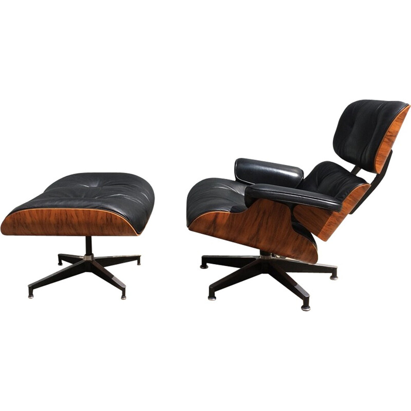 Vintage lounge chair by Eames for Herman Miller - 1980s