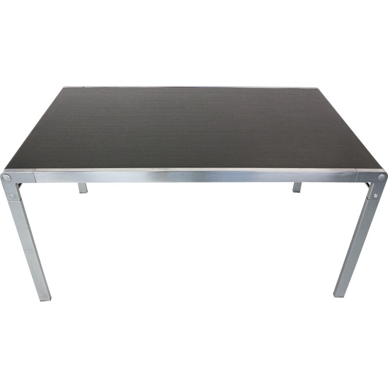 """Vintage """"TE21"""" dining table by Paul Ibens & Claire Bataille for 'T Spectrum - 1970s"""
