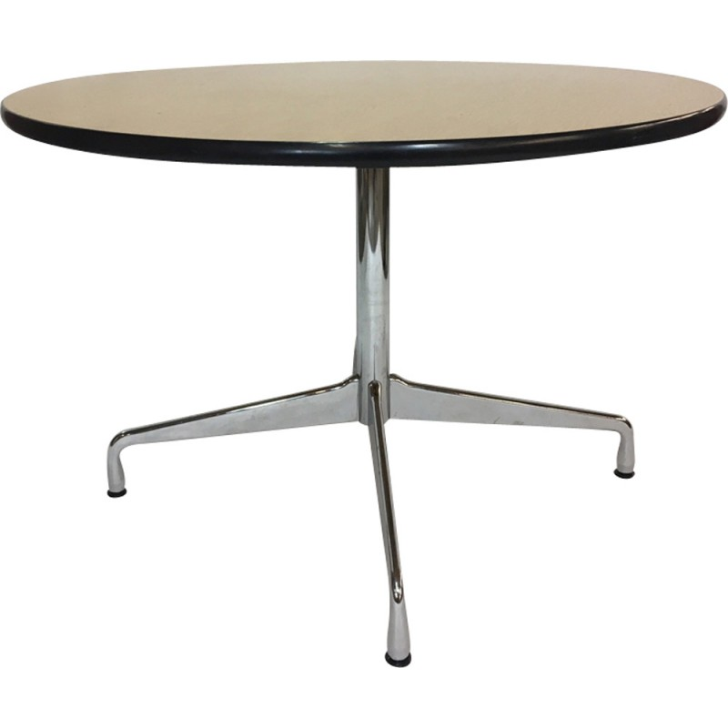 Vintage Circular Dining Table By Charles Ray Eames For Vitra 1960s
