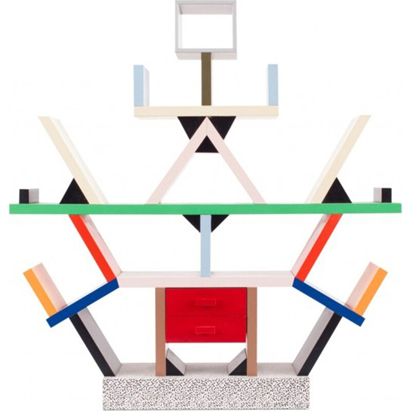 Limited Edition Miniature carlton Collectible by Ettorse Sottsass - 1990s