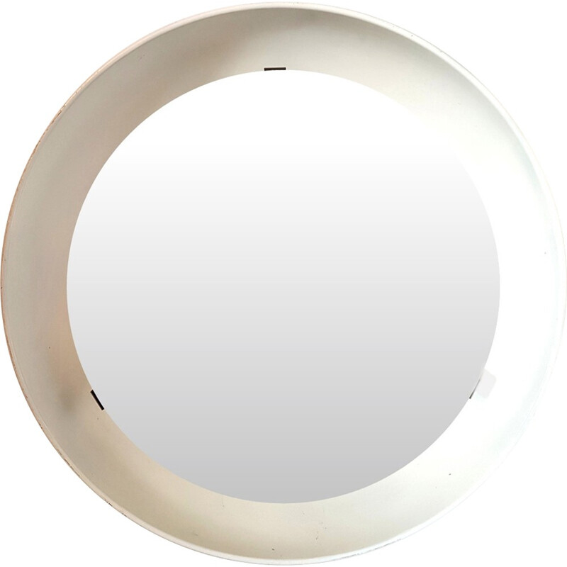 Vintage back lit mirror by Poul Henningsen for Louis Poulsen - 1960s