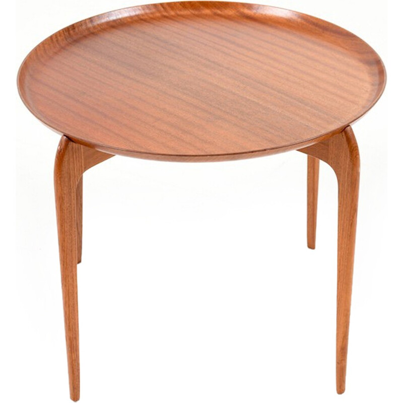 Vintage Danish tray table in teak by Willumsen & Engholm for Fritz Hansen - 1950s