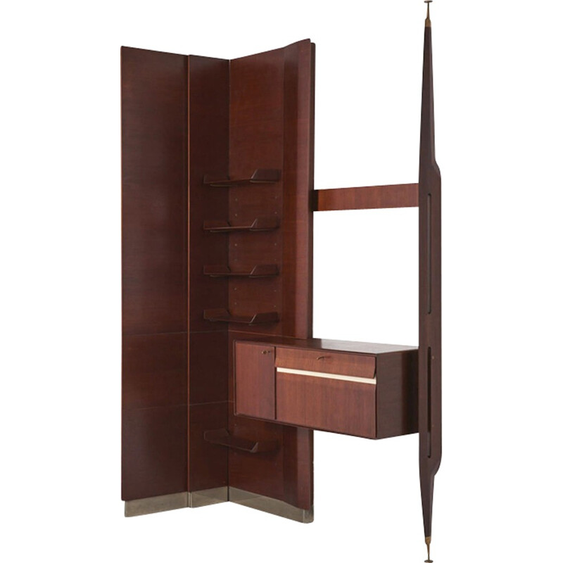 Vintage wall unit by Franco Albini - 1950s