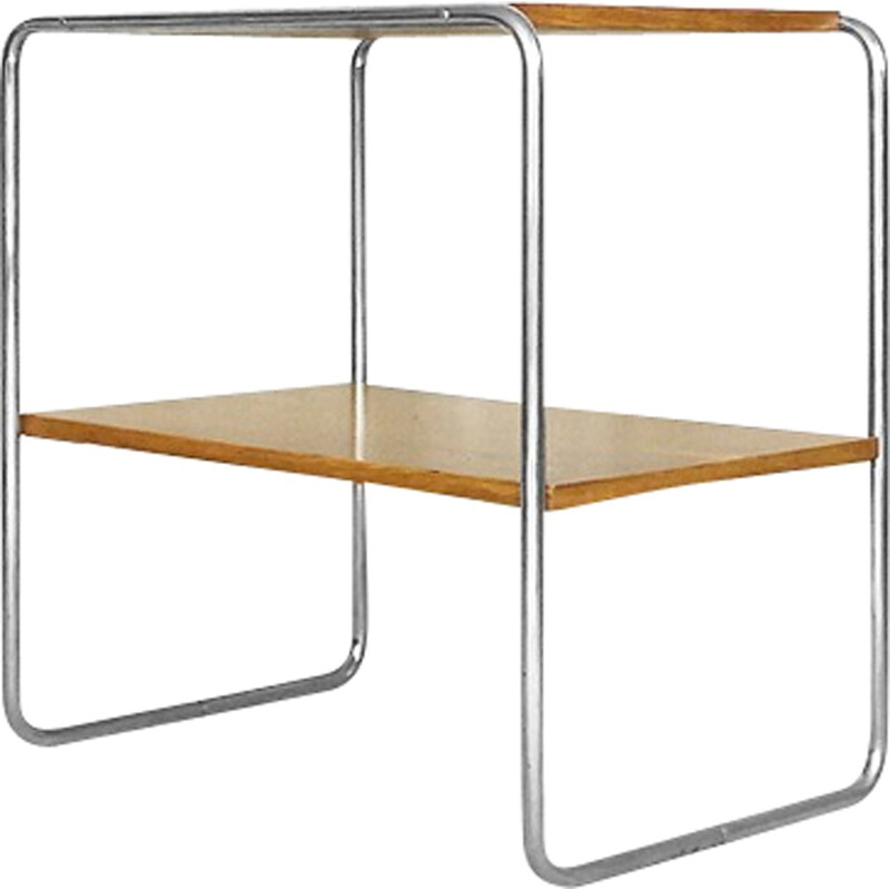 B12 Console Table by Marcel Breuer for Thonet - 1930s