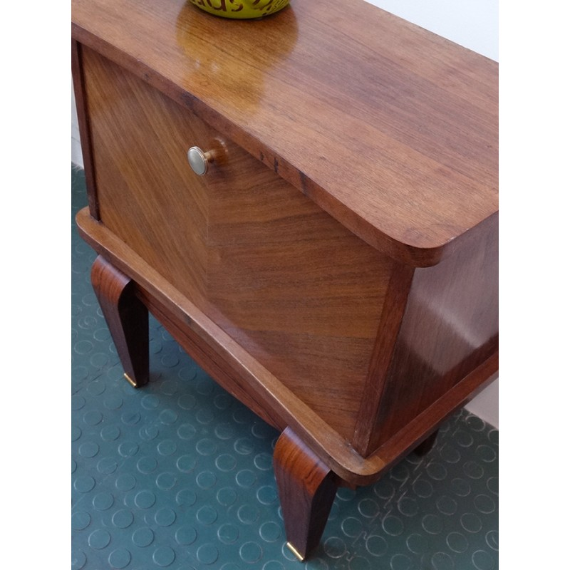 b0786d9e1e French Vintage Small bedside table - 1940s - Design Market