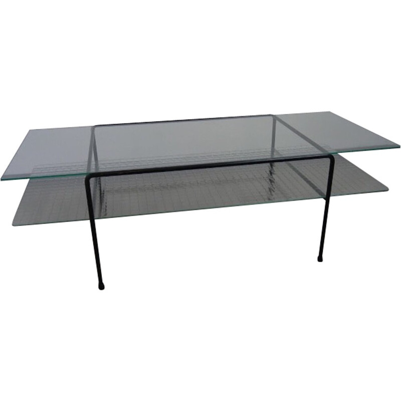 Vintage coffee table by Wim Rietveld for Gispen - 1961