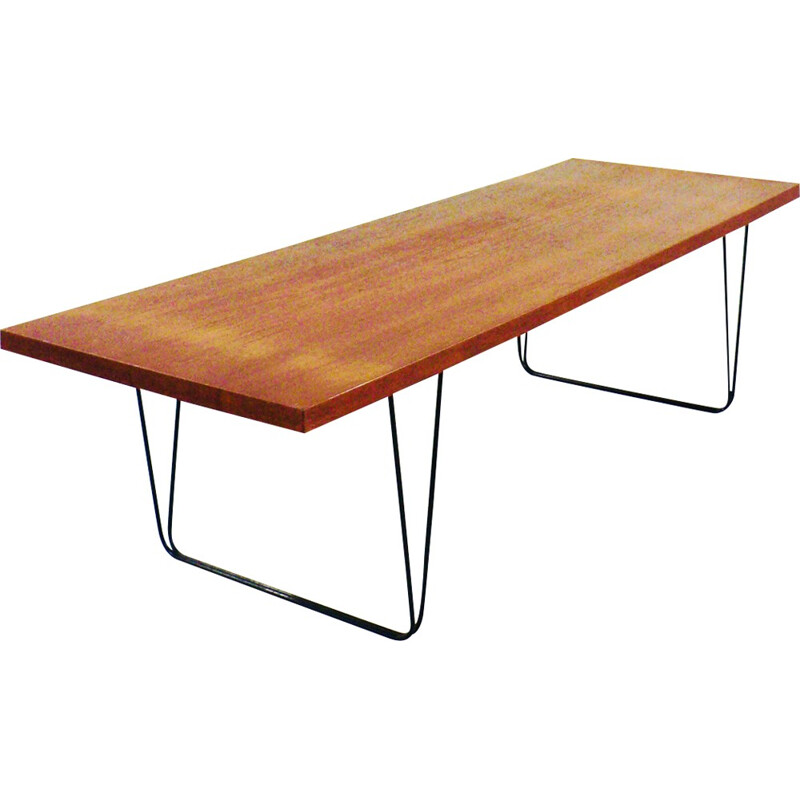CM191 coffee table by Pierre Paulin for Thonet - 1950s