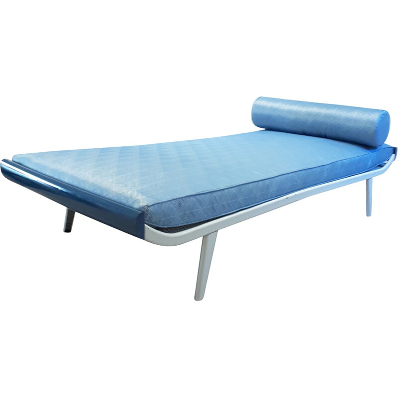 "Scandinavian blue ""Cleopatra"" Daybed by Dick Cordemeijer for Auping - 1960s"