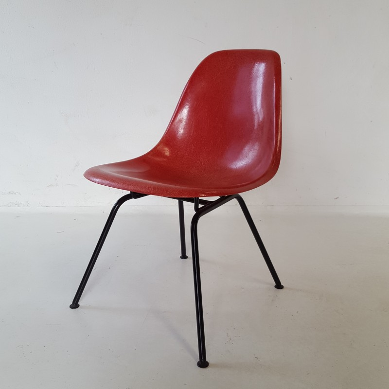 vintage red chair by charles and ray eames 1960s design market