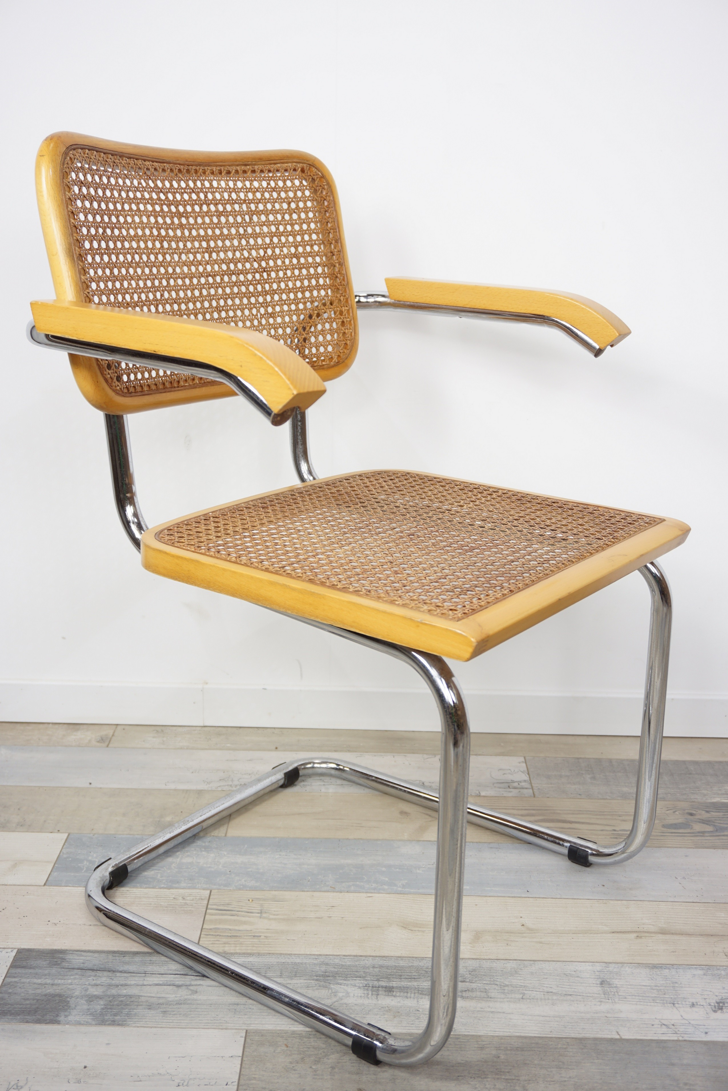 """Cesca B64"" armchair by Marcel Breuer - 1960s - Design Market"