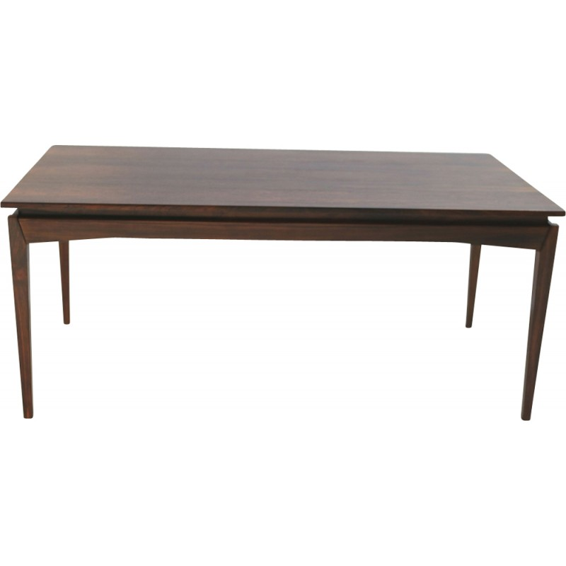 Vintage rosewood extendable dining table by H. W. Klein - 1950s