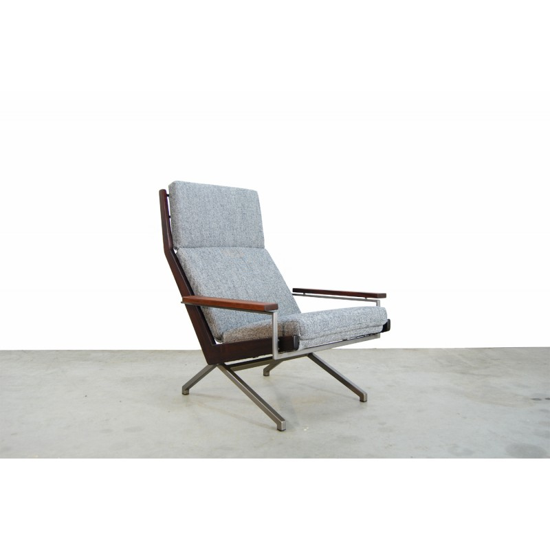 Swell Dutch Grey Lotus Lounge Chair By Rob Parry For Gelderland 1960S Pdpeps Interior Chair Design Pdpepsorg