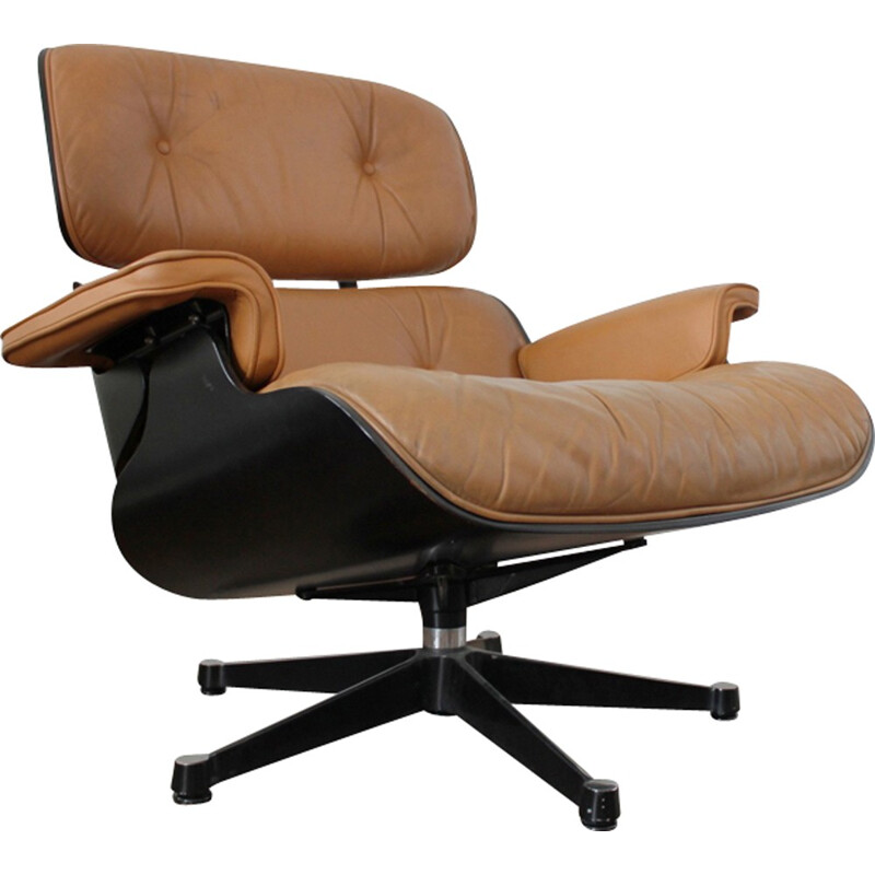 Vintage lounge chair by Ray and Charles Eames from Vitra - 1980s