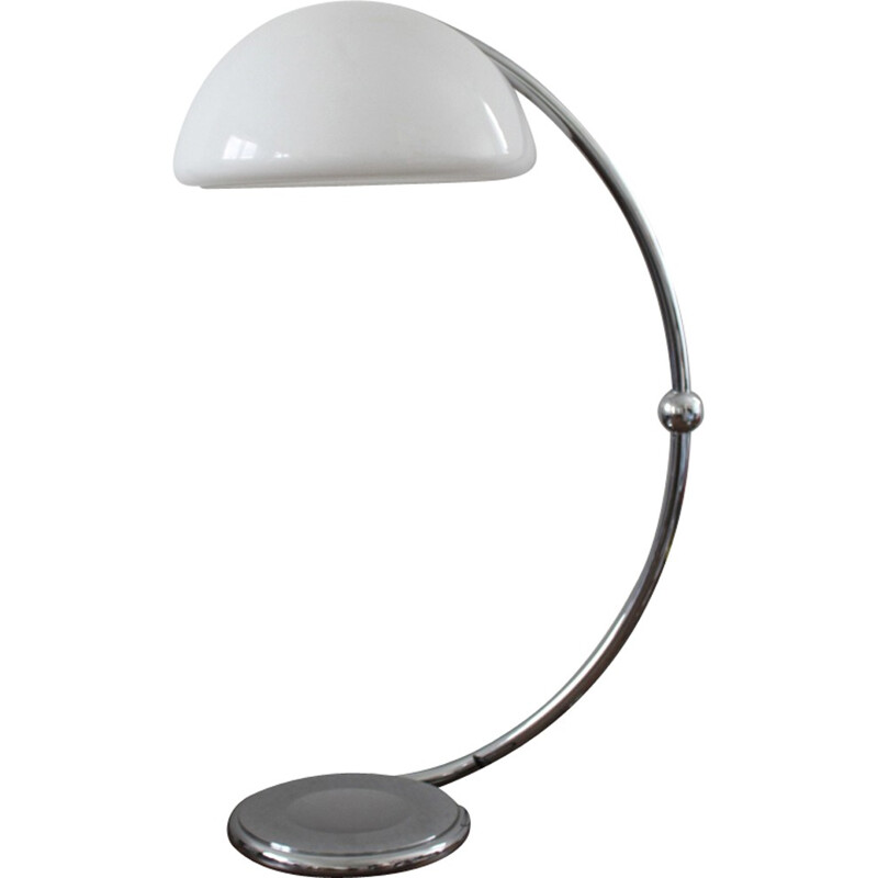 "Vintage ""Serpente"" floor lamp by Elio Martinelli for Luce - 1960s"