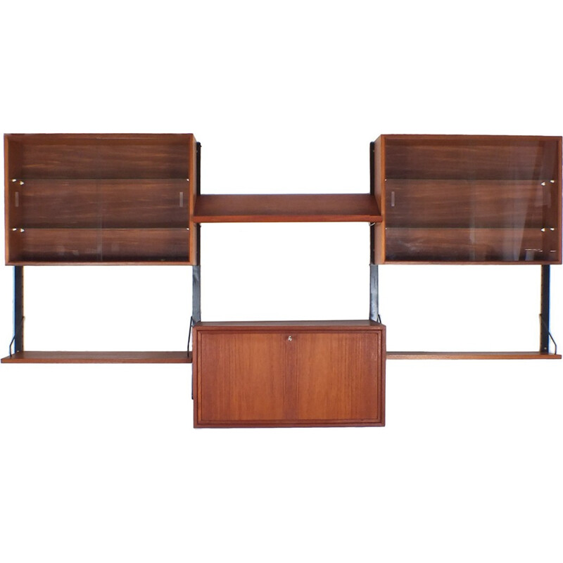 Vintage modular wall system by Poul Cadovius - 1940s