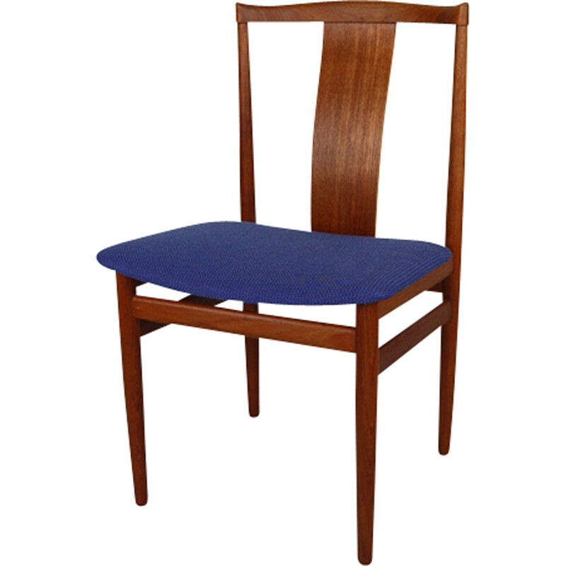 Set of Six Scandinavian Teak Chairs by Hening Sørensen - 1960s