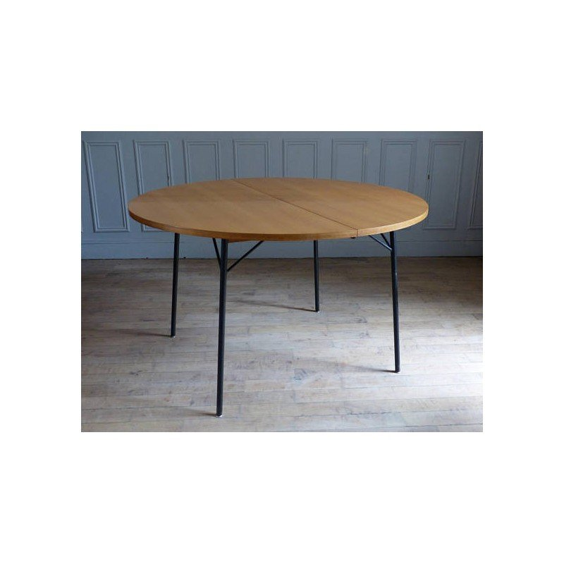 vintage dining table by alain richard for meuble tv 1960s design market - Meuble Design Vintage