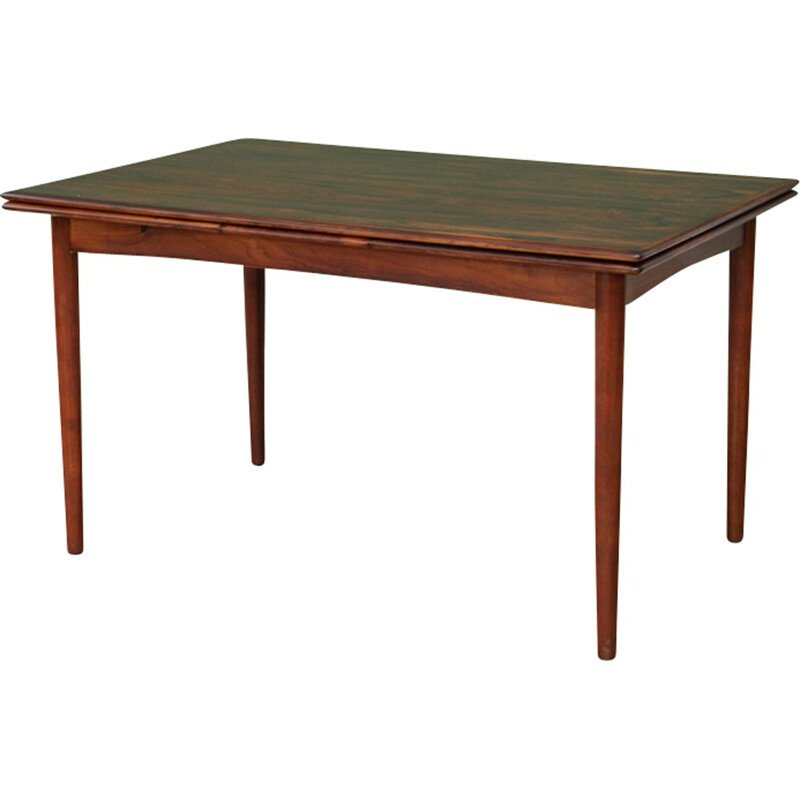 Vintage extendable rosewood dining table - 1960s