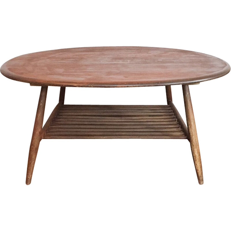 "Vintage scandinavian ""Ercol"" coffee table - 1960s"